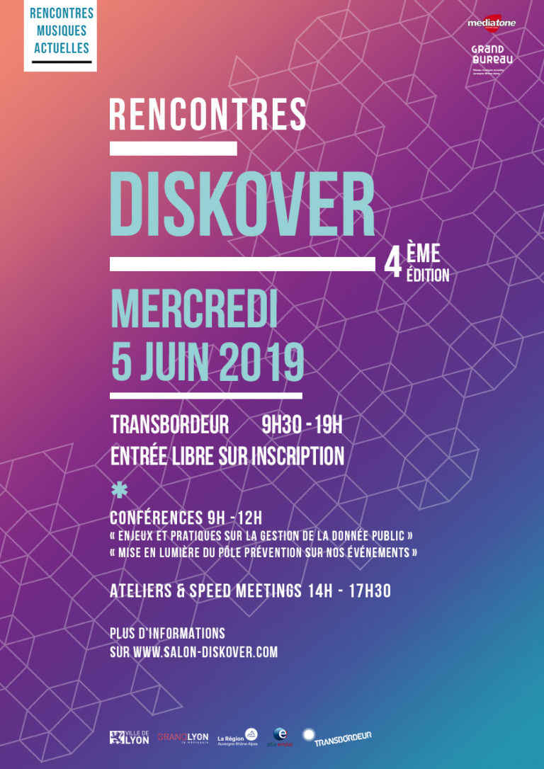 Flyer Web Rencontres Diskover 2019